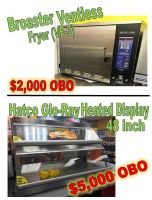 Lightly Used Fryer & Heater Display