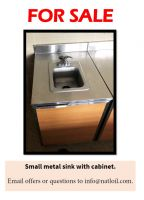 Cabinet/Counter with Small Sink