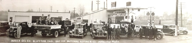 Moser Oil Company circa 1933